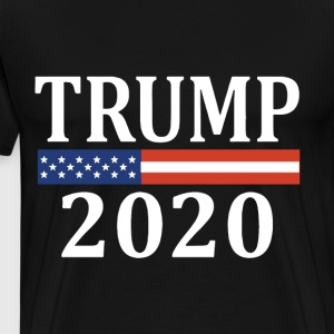 Trump 2020 make america great T-shirt - Men's Premium T-Shirt