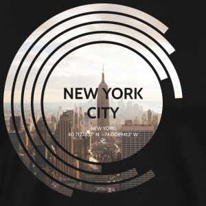New York City - Empire State Building - Spectrum - Men's Premium T-Shirt