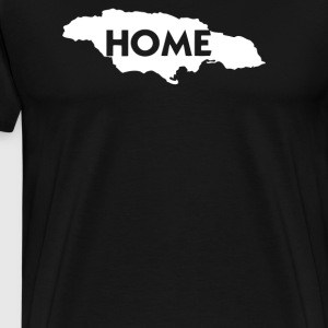 JAMAICA IS HOME - Men's Premium T-Shirt