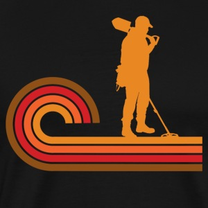 Retro Style Coinshooter Metal Detecting - Men's Premium T-Shirt