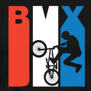 Red White And Blue BMX - Men's Premium T-Shirt