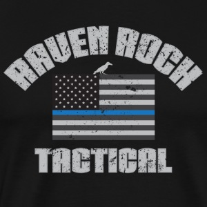 Raven Rock USA Thin Blue Line - Men's Premium T-Shirt