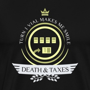 Magic the Gathering - Death and Taxes Life V1 - Men's Premium T-Shirt