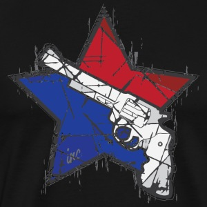 Guns and Stars - Men's Premium T-Shirt