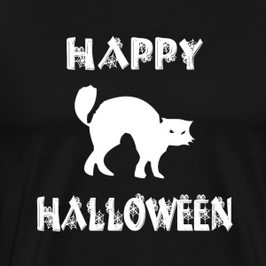 Halloween Shirt/Hoodie/Tank Gift- Scary Cat - Men's Premium T-Shirt