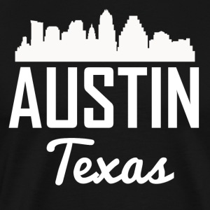 Austin Texas Skyline - Men's Premium T-Shirt