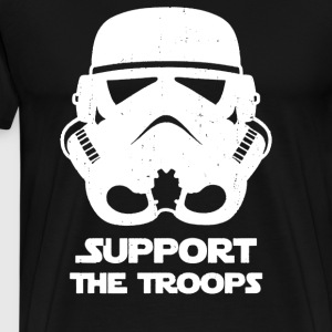 SUPPORT THE TROOPS - Men's Premium T-Shirt
