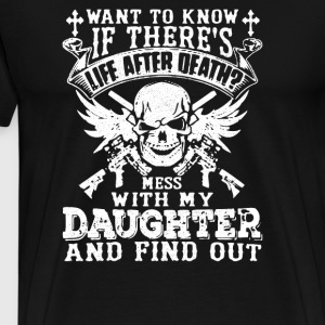 Is There Life After Death - Men's Premium T-Shirt