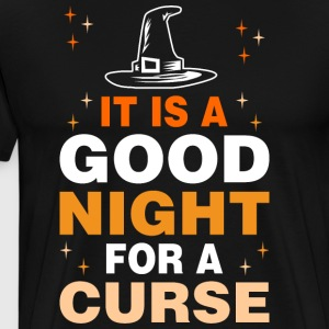 It Is Good Night For Curse Halloween - Men's Premium T-Shirt