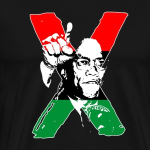 Black Lives Matter - Malcolm X Icon - Men's Premium T-Shirt