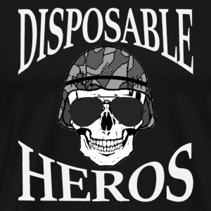Disposable Heros (4021) - Men's Premium T-Shirt