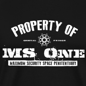 Property of MS One - Men's Premium T-Shirt
