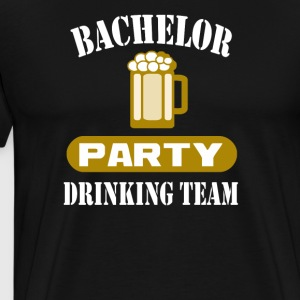 Bachelor Party Drinking Team Wedding Groomsmen Bri - Men's Premium T-Shirt