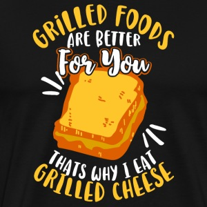 Grilled Foods are better for you - Men's Premium T-Shirt
