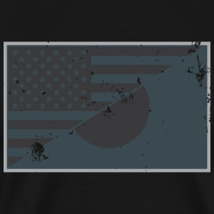 USA / JAPAN Friendship Flag Urban - Men's Premium T-Shirt