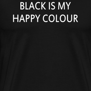 Black Is My Happy Colour Vogue Festival Friday - Men's Premium T-Shirt