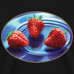 Strawberry Trio - Men's Premium T-Shirt