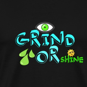 I GRIND-GREEN - Men's Premium T-Shirt