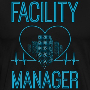 Facility Manager/Facilities Manager/Gift/Present - Men's Premium T-Shirt