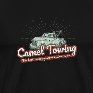 Camel Towing- funny joke shirt - Men's Premium T-Shirt