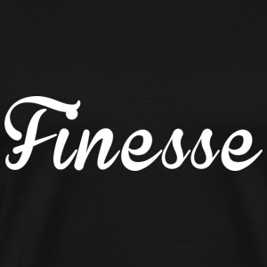 Finess white supreme logo - Men's Premium T-Shirt