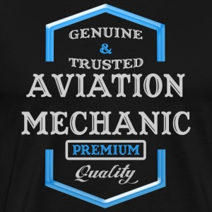 Aviation Mechanic Logo - Men's Premium T-Shirt