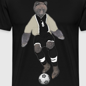 Soccer Bear - Men's Premium T-Shirt