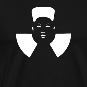 Atomic Kim Jong Un. Stop the North Korean lunatic! - Men's Premium T-Shirt