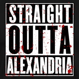 STRAIGHT OUTTA ALEXANDRIA - Men's Premium T-Shirt
