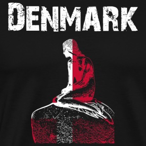 Nation-Design Denmark Mermaid - Men's Premium T-Shirt
