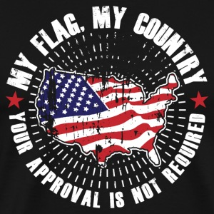 My Flag MyCountry! USA Patriot - Men's Premium T-Shirt