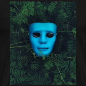 Blue Mask - Men's Premium T-Shirt