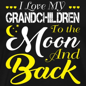 Grandchildren - I Love My Grandchildren T Shirt - Men's Premium T-Shirt