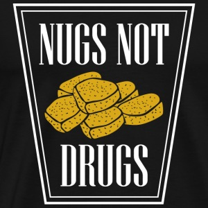 Nug - Nugs Not Drugs - Men's Premium T-Shirt