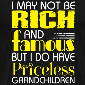 Grandchildren - I Do Have Priceless Grandchildre - Men's Premium T-Shirt