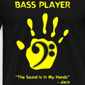 Bass Player - Bass Player -- - Men's Premium T-Shirt