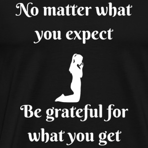 Taylor gang - Be Grateful Inspirational - Men's Premium T-Shirt