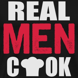 Cook - Real men cook - Men's Premium T-Shirt