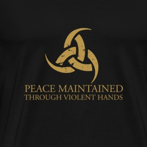 Steam Workshop - The Triple-Horn of Odin Viking - Men's Premium T-Shirt