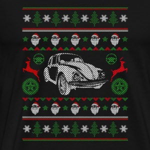 Bettle Ugly Christmas sweater for Volkswagen B - Men's Premium T-Shirt