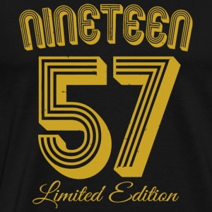 1957 - Vintage 1957 Limited Edition 60th Birthd - Men's Premium T-Shirt