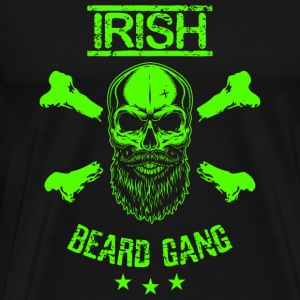 Irish - Irish Beard Gang Shirt - Men's Premium T-Shirt