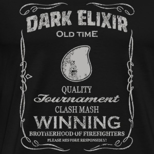 Clash of clans - Dark Elixir Clash Mash CoC Hog - Men's Premium T-Shirt