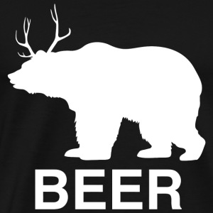 Bear - Beer Bear - Men's Premium T-Shirt