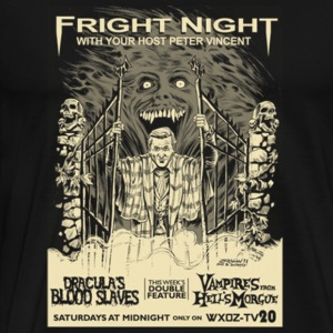 Fright night - Fright nigh with your peter vince - Men's Premium T-Shirt
