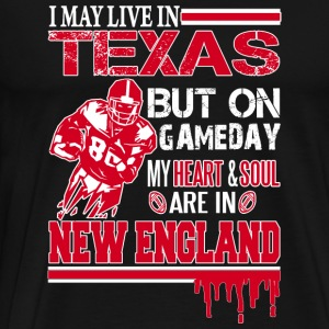 Heart and soul in New England - Fans - Men's Premium T-Shirt