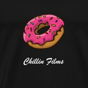 CF doughnut white writing - Men's Premium T-Shirt