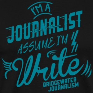 Bridgewater Journalism - Men's Premium T-Shirt