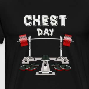 Chest Day T-shirt - Men's Premium T-Shirt