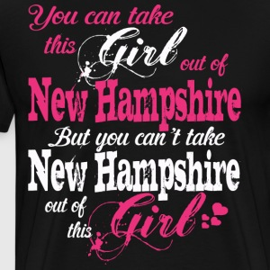 This Girl Love New Hampshire - T-shirt premium pour hommes
